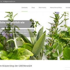 Kräutershop GREENmed24